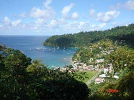 Charlotteville, Man O War Bay